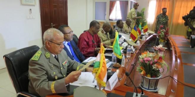 Selon le ministre de la Défense du Niger, «la force G5 Sahel est prête à aller sur le front pour combattre le terrorisme». © © RFI/Olivier Fourt