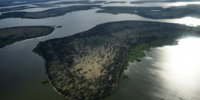 Vue du lac Tchad dans la région de Bol, chef-lieu de la région du Lac. © SIA KAMBOU / AFP