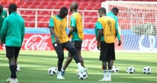 Une séance d'entrainement du Sénégal en Russie