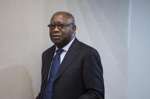 L'ancien président ivoirien Laurent Gbagbo, le 28 janvier 2016, lors d'une audience à la Cour pénale internationale de La Haye (Pays-Bas) © ICC-CPI