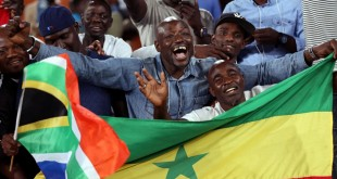 Supporters sénégalais (image d'illustration). © REUTERS/Siphiwe Sibeko