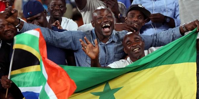 Supporters sénégalais (image d'illustration). © REUTERS/Siphiwe Sibeko