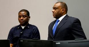 Le vice-président congolais Jean-Pierre Bemba dans la salle d'audience de la CPI, le 21 juin 2016. © REUTERS/Michael Kooren/