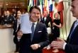 Le premier ministre italien Giuseppe Conte quitte le sommet européen de Buxelles, le 29 juin. ERIC VIDAL / REUTERS