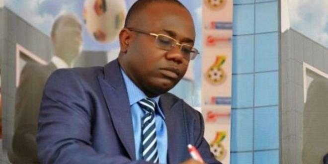 Kwesi Nyantakyi, président de la fédération ghanéenne de football.