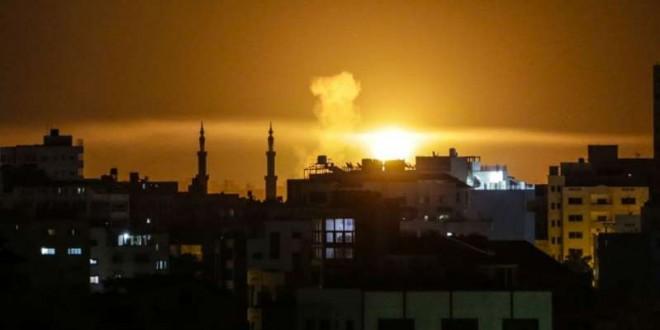 © Mahmud Hams, AFP L'aviation israélienne a bombardé Gaza samedi 2 juin.