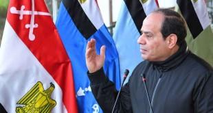 Le président égyptien Abdel Fattah Al Sissi, Le Caire, Egypte, le 19 février 2018.