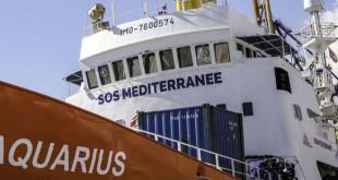 Le navire de l'ONG SOS Méditerranée a recueilli 629 migrants ce week-end. (Sipa Press)