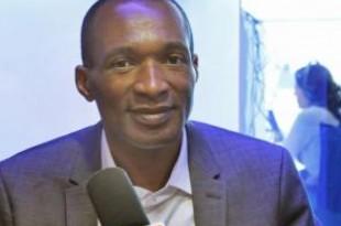 Michel Thierry Atangana reçu à RFI (archives). © RFI/Sébastien Bonijol