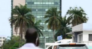 Le centre ville de Libreville (Gabon), le 22 août 2013 © David Ignaszewski pour Jeune Afrique