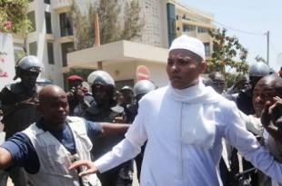 Karim Wade, fils de l'ancien président sénégalais Abdoulaye Wade. © STR/AP/SIPA