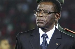 Teodoro Obiang Nguema Mbasogo en janvier 2012. © REUTERS/Amr Abdallah Dalsh