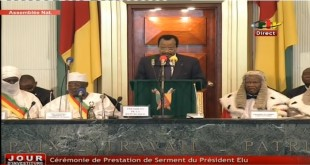 discours investiture Biya