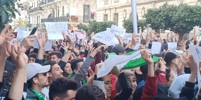 étudiants algérie