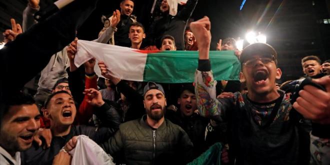 algerie en liesse