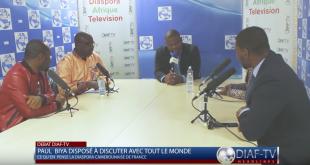 Debat Diaf-TV sur la Crise anglophone