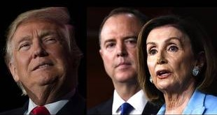 donald-trump-face-democrates-adam-schiff-nancy-pelosi