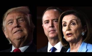 donald-trump-face-democrates-adam-schiff-nancy-pelosi